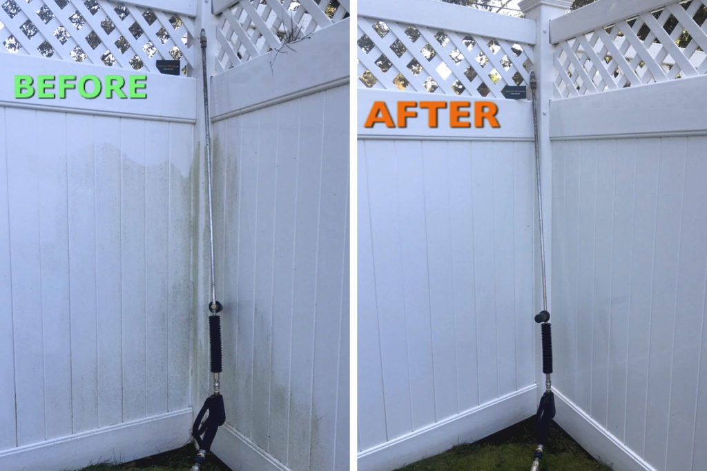 white-fence-pressure-wash-andover-residential