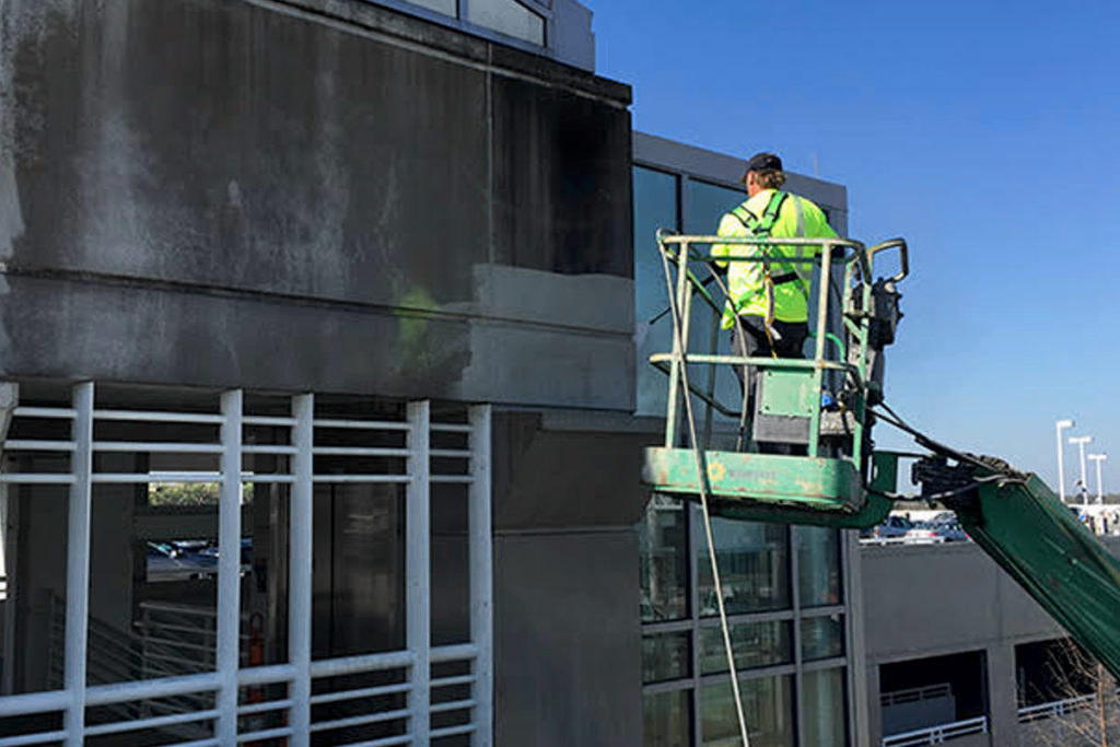 parking-garage-cleaning-andover