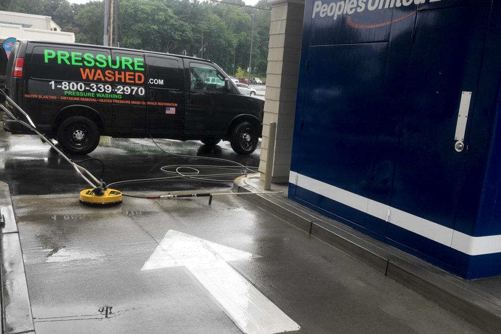 pressure-wash-exterior-building-drive-through