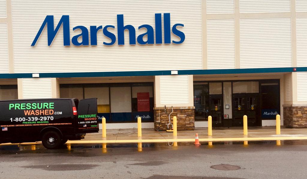 pressure-washed-marshalls-storefront-sidewalks